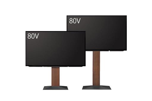 対応テレビサイズの変更について