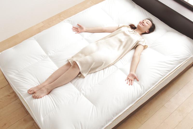 上質な眠りは日本製にあり。