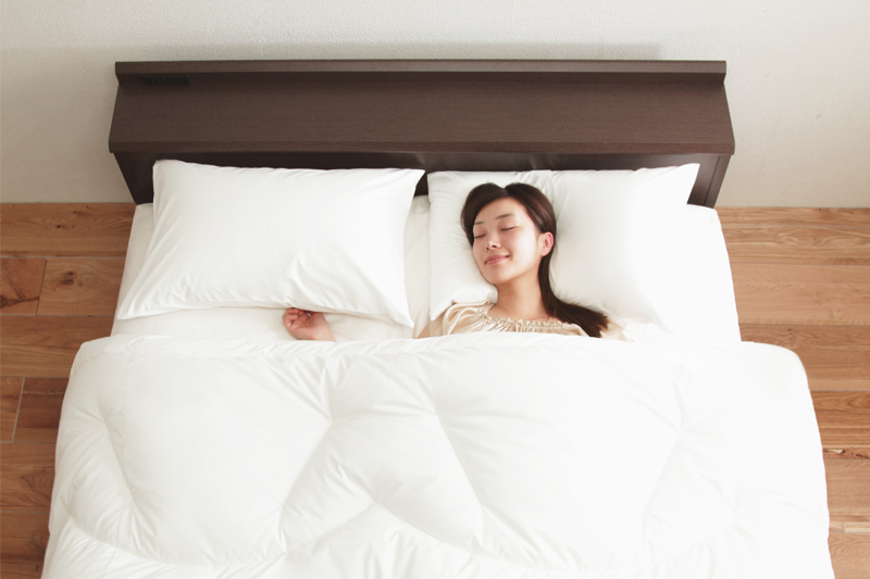 リッチホワイトシリーズ寝具 〔リッチホワイト〕