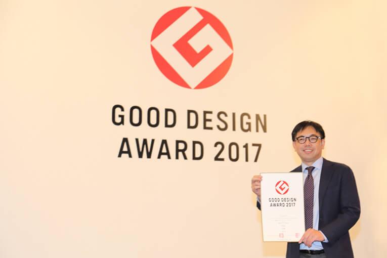 「Good Design 賞」WALLの表彰盾